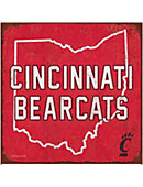 University of Cincinnati Large Tin Sign