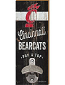 University of Cincinnati Wall Mount Bottle Opener