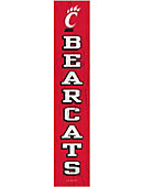 University of Cincinnati Bearcats Plank Sign