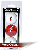 University of Cincinnati Golf Balls 3-Count