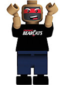 University of Cincinnati Fan Face Lego