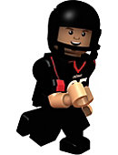 University of Cincinnati Brent Celek Player Lego