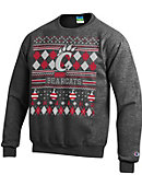 University of Cincinnati Bearcats Ugly Sweater Crewneck Sweatshirt