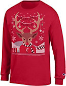 University of Cincinnati Bearcats Ugly Sweater Long Sleeve T-Shirt