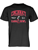 Cincinnati Bearcats Football 2015 Hawai'i Bowl T-Shirt 3XL