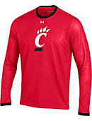University of Cincinnati Bearcats Long Sleeve Huddle T-Shirt