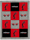University of Cincinnati 62 x 80 Blanket
