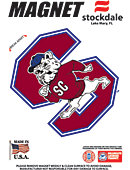 South Carolina State University Bulldogs 4''x4'' Magnet