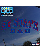 SC State Dad Decal