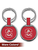 South Carolina State University Bulldogs Double Ring Keychain