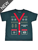 Sacramento State Ugly Sweater Toddler T-Shirt
