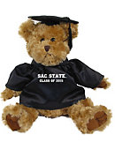 Sacramento State Class of 2016 10 in. Cap and Gown Plush Bear