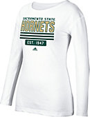 Sacramento State Women's Athletic Fit Long Sleeve T-Shirt
