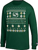 Sacramento State Hornets Ugly Sweater Long Sleeve T-Shirt