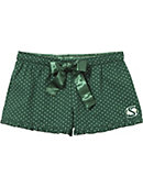 Sacramento State Women's Slim Fit Flannel Boxer Shorts
