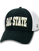 Sacramento State Stretch Fitted Micro Mesh Cap