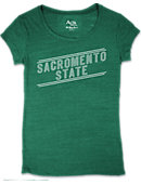 Sacramento State Women's Slim Fit Short Sleeve T-Shirt