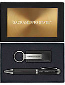 Sacramento State Pen and Key Chain Set