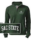 Sacramento State Women's 1/2 Zip Top