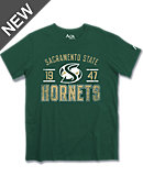 Alta Gracia Sacramento State Hornets Athletic Fit T-Shirt