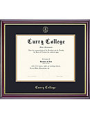 Curry College 8.5'' x 11'' Windsor Diploma Frame
