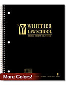 Whittier Law School Notebook 100-Sheet