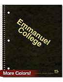 Emmanuel College 200 Sheet 5 Subject Notebook