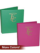 Emmanuel College Saints 1 in. Binder