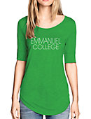 Emmanuel College Women's 3/4 Length Sleeve