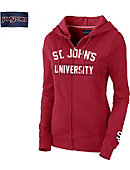 St. John's University Red Storm Women's Full Zip Hooded Sweatshirt