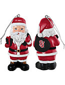 St. John's University 3.25' Santa Ornament