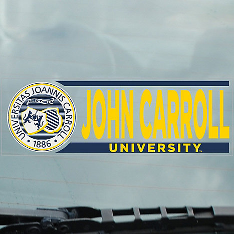 Product: John Carroll University Cling Decal