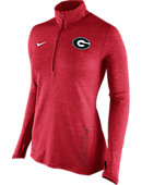 Nike University of Georgia Women's 1/2 Zip Top