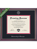 university of georgia 11 x 14 jefferson diploma frame