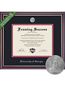 University of Georgia 11'' x 14'' Jefferson Diploma Frame