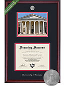University of Georgia Classic Diploma Frame with Lithograph