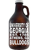 University of Georgia Bulldogs 64 oz. Growler