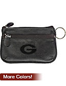 University of Georgia Double Zip Coin Purse