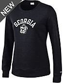 University of Georgia Bulldogs Women's Crewneck Sweatshirt