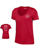 University of Georgia Women's V-Neck T-Shirt