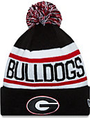 University of Georgia Bulldogs Biggest Fan Knit Pom Hat