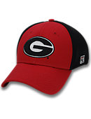 University of Georgia Stretch Fitted Micro Mesh Cap