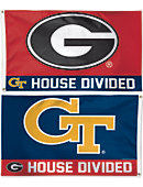 University of Georgia 3x5' House Divided Flag