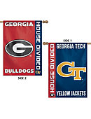 University of Georgia 28x48' House Divided Flag