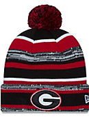 University of Georgia Knit Pom Hat