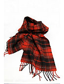 University of Georgia 75 in. x 12 in. Tartan Scarf