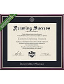 university of georgia 11 x 14 value price scholastic diploma frame