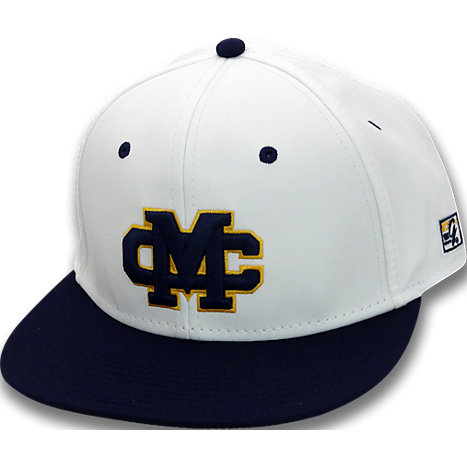 mississippi college fitted on field baseball hat