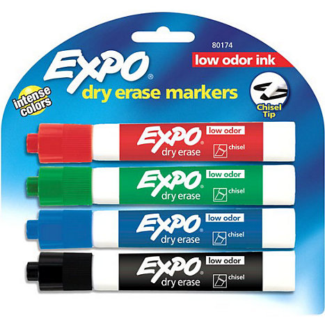 Product: Dry Erase Markers 4Pk Expo