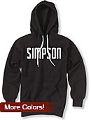 Simpson University Hooded Sweatshirt